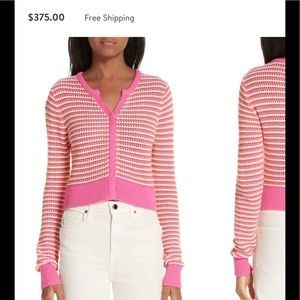New Collection Victor Glemaud pink cardigan